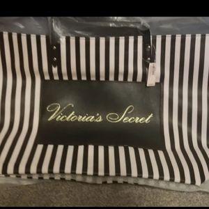 NWT! Victoria's Secret Stripe Tote